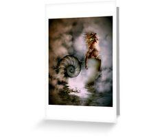 Nerites Sea God Greeting Card