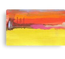 Industrial Landscape study III Canvas Print