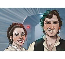 Star Wars selfie series: #3 Photographic Print