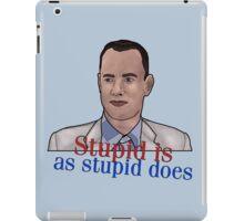 Gump iPad Case/Skin