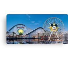 Disney California Adventure's Paradise Pier Canvas Print