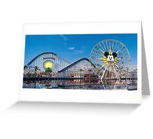 Disney California Adventure's Paradise Pier Greeting Card