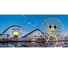 Disney California Adventure's Paradise Pier Photographic Print