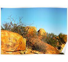 The Granites,,Mt Magnet Poster