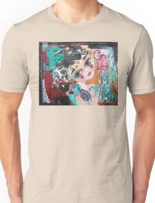 CRAZY LOVE Cat Artwork Adoption Advocacy  Unisex T-Shirt