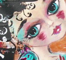 CRAZY LOVE Cat Artwork Adoption Advocacy  Sticker