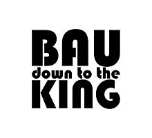 Bau Down to the King Photographic Print