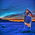 Frozen Sunset HDR by Ryan Wright