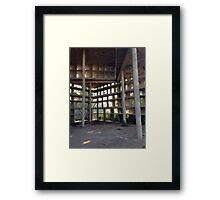 Tower of Shadows Framed Print