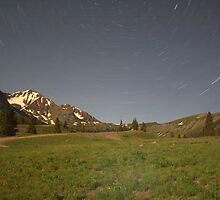 night in the Ruby Mountains by Paul Gana