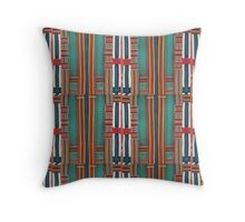 Pin striped part 2 Throw Pillow