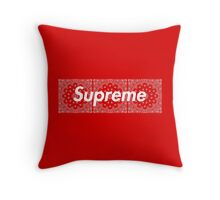 Supreme Red TNF Media Cases, Pillows, and More. Throw Pillow