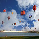 Balloon Fiesta, Canberra, AUSTRALIA by Anthony Caffery