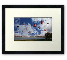 Balloon Fiesta, Canberra, AUSTRALIA Framed Print