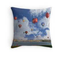 Balloon Fiesta, Canberra, AUSTRALIA Throw Pillow