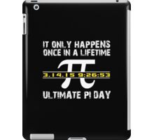 Amazing 'Ultimate Pi Day 2015 Gold' T-shirts, Hoodies, Accessories and Gifts iPad Case/Skin