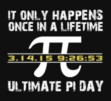 Amazing 'Ultimate Pi Day 2015 Gold' T-shirts, Hoodies, Accessories and Gifts by Albany Retro