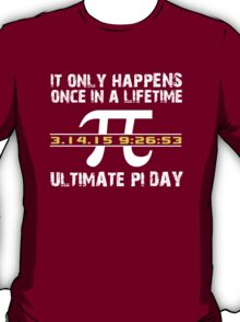 Amazing 'Ultimate Pi Day 2015 Gold' T-shirts, Hoodies, Accessories and Gifts T-Shirt