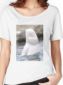 Beluga Says Hi Women's Relaxed Fit T-Shirt