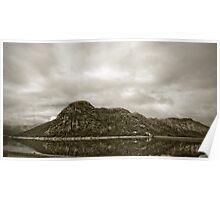 Lake Mackintosh & Mt Farrell, Tasmania Poster