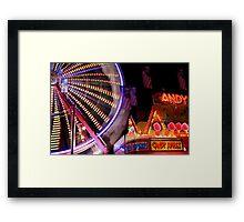 The Wheel Framed Print