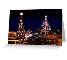 Christmas at Disneyland Paris Greeting Card