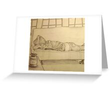 sleeping pills Greeting Card