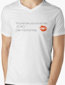 Gossip Girl - XOXO Mens V-Neck T-Shirt