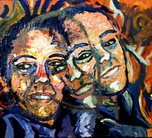 three faced by Jackie Major