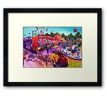 Chippa's Carnival Framed Print