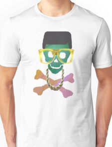 Retro Skull with Hightop Unisex T-Shirt