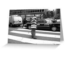 New York Street Photography 40 Greeting Card