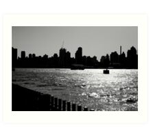 On the River of Life Art Print
