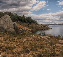 Lake Eucumbene Storm by yolanda
