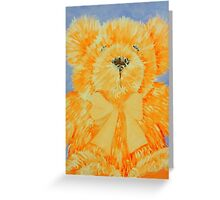 teddy Greeting Card
