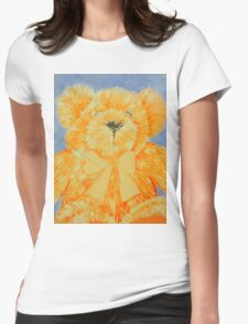 teddy Womens Fitted T-Shirt