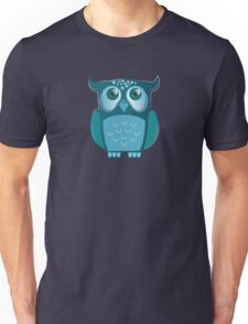 blue night owl Unisex T-Shirt