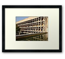Louvers on the Palace of Assembly Framed Print