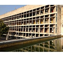 Louvers on the Palace of Assembly Photographic Print