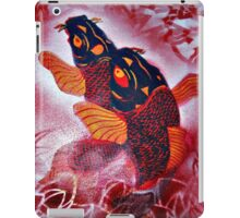 spray koi iPad Case/Skin