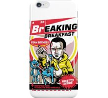 Breaking Breakfast iPhone Case/Skin