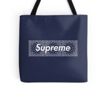 Supreme Navy TNF Media Cases, Pillows, and More. Tote Bag