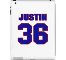 National football player Justin Griffith jersey 36 iPad Case/Skin