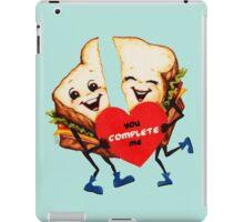 Valentine's Day! Sandwich Valentine iPad Case/Skin