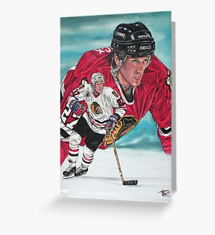 Jeremy Roenick Greeting Card
