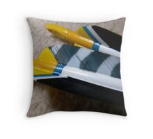 Nocks Two Times Throw Pillow