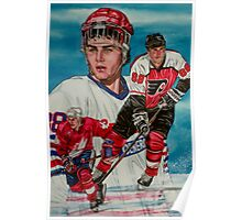 Eric Lindros Poster