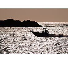 Boat Ride Photographic Print