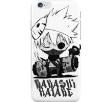 Kakashi #2 - Black White Version iPhone Case/Skin