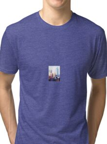 New York City, Skyscrapers Tri-blend T-Shirt